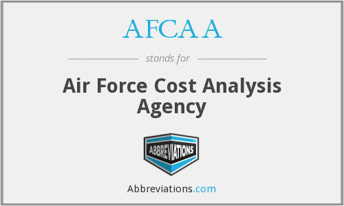 What does AFCAA stand for?