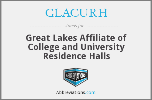 GLACURH - Great Lakes Affiliate of College and University Residence Halls