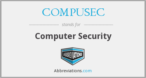What does COMPUSEC stand for?