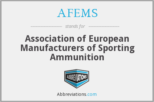 What does AFEMS stand for?