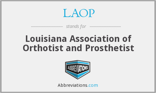 What does LAOP stand for?