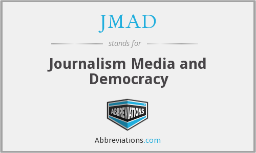 What does JMAD stand for?