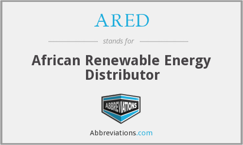 What does ARED stand for?