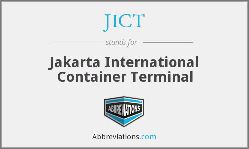 What does JICT stand for?