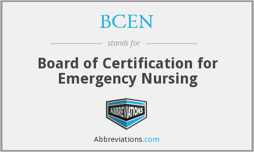 What does BCEN stand for?