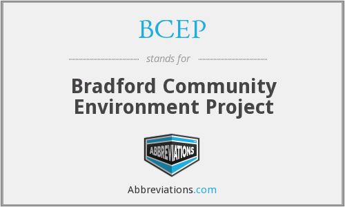 What does BCEP stand for?
