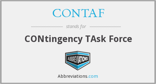 What does CONTAF stand for?