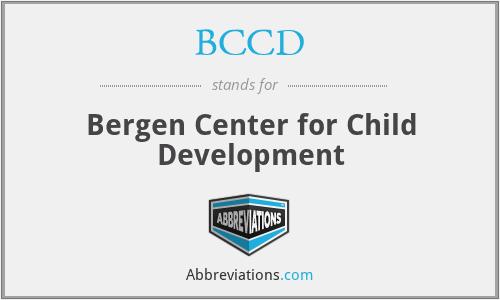BCCD - Bergen Center for Child Development