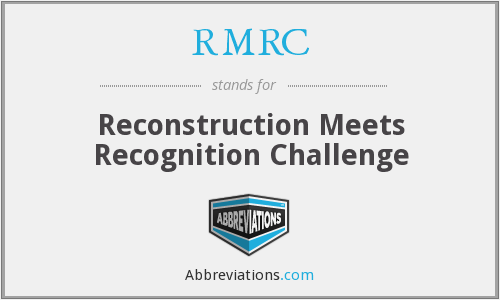RMRC - Reconstruction Meets Recognition Challenge