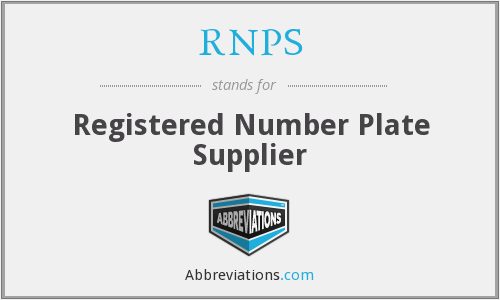 What does RNPS stand for?