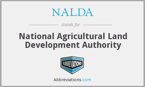What does NALDA stand for?