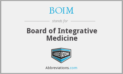 What does BOIM stand for?
