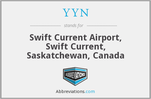 YYN - Swift Current Airport, Swift Current, Saskatchewan, Canada