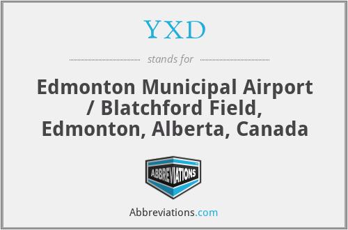 YXD - Edmonton Municipal Airport / Blatchford Field, Edmonton, Alberta, Canada