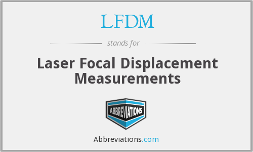What does LFDM stand for?