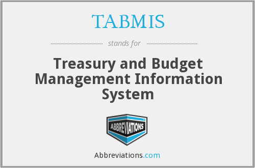 What does TABMIS stand for?