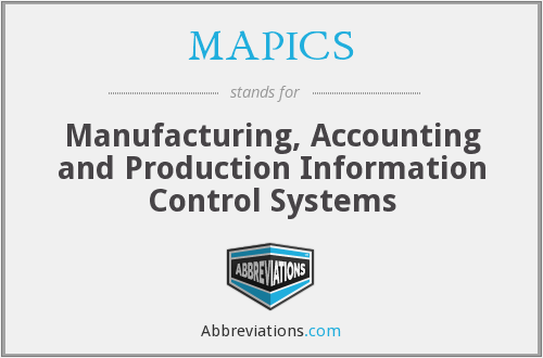 What does MAPICS stand for?