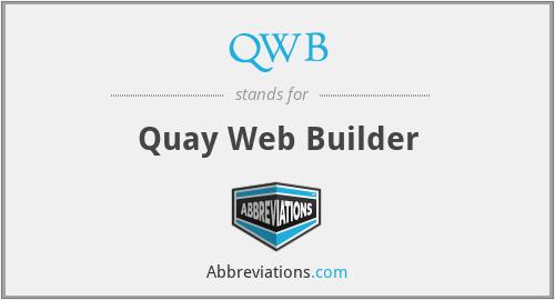 QWB - Quay Web Builder