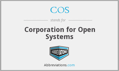 COS - Corporation for Open Systems