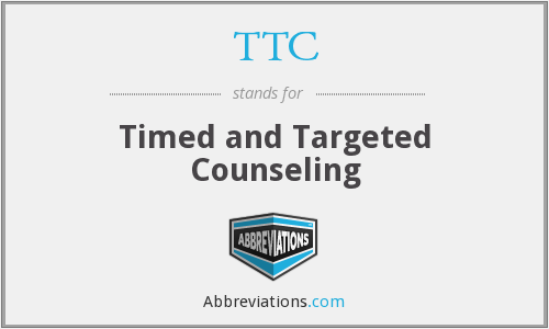 TTC - Timed and Targeted Counseling