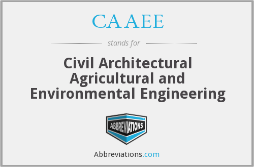 What does CAAEE stand for?