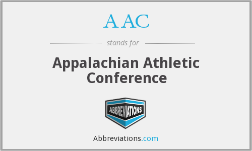 AAC - Appalachian Athletic Conference