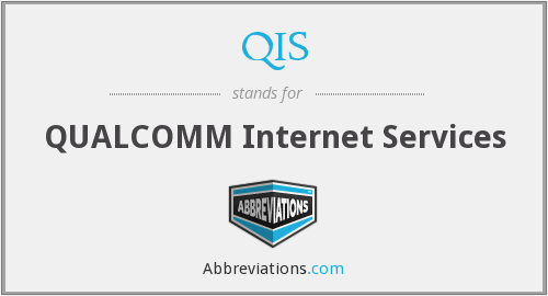 QIS - QUALCOMM Internet Services