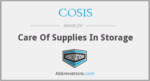 What does COSIS stand for?