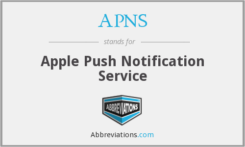 what is apple push