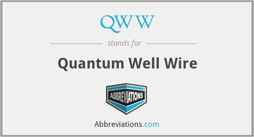 QWW - Quantum Well Wire