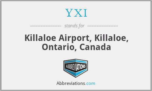 YXI - Killaloe Airport, Killaloe, Ontario, Canada