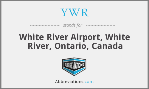 YWR - White River Airport, White River, Ontario, Canada