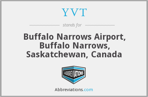 YVT - Buffalo Narrows Airport, Buffalo Narrows, Saskatchewan, Canada