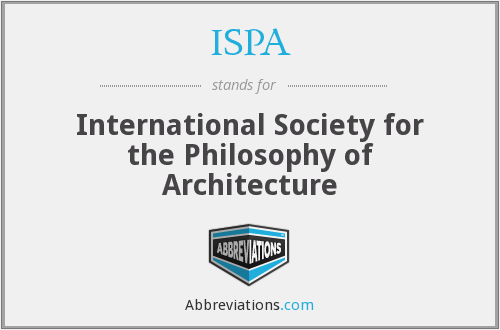 What does ISPA stand for?