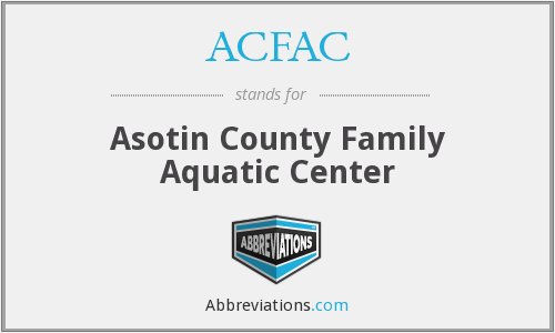 ACFAC - Asotin County Family Aquatic Center