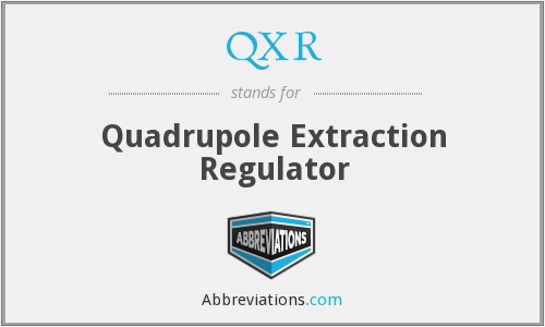 QXR - Quadrupole Extraction Regulator
