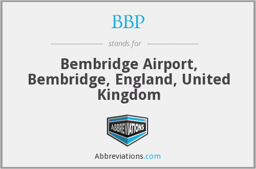 BBP - Bembridge Airport, Bembridge, England, United Kingdom