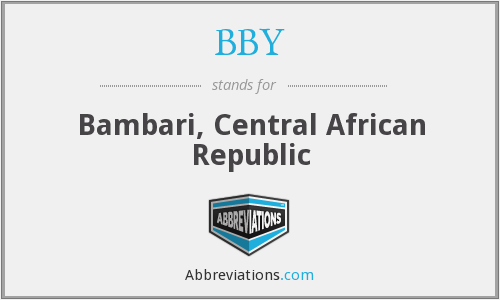 BBY - Bambari, Central African Republic