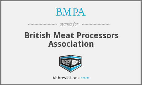 What does BMPA stand for?