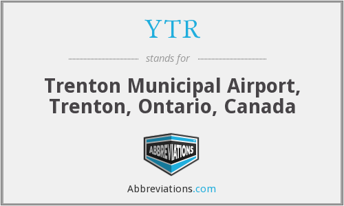 YTR - Trenton Municipal Airport, Trenton, Ontario, Canada