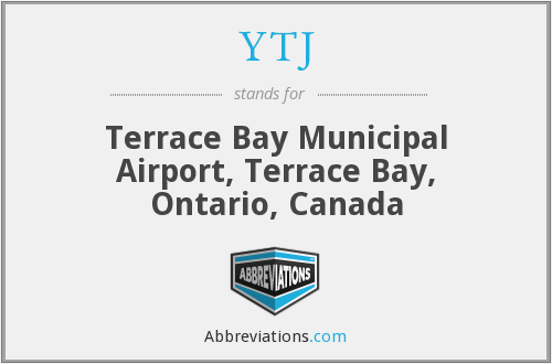 YTJ - Terrace Bay Municipal Airport, Terrace Bay, Ontario, Canada