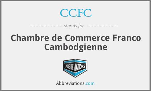 CCFC - Chambre de Commerce Franco Cambodgienne