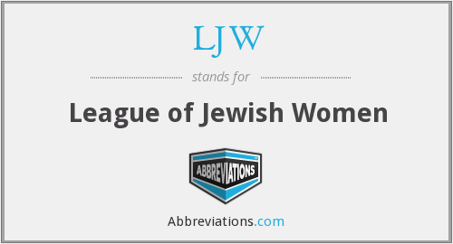 What does LJW stand for?