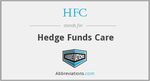 HFC - Hedge Funds Care
