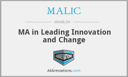 What does MALIC stand for?