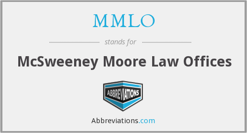 What does MMLO stand for?
