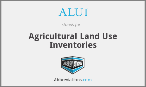 What does ALUI stand for?