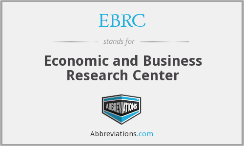 EBRC - Economic and Business Research Center