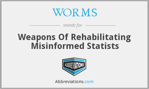 WORMS - Weapons Of Rehabilitating Misinformed Statists