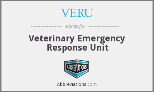 What does VERU stand for?